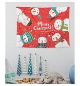 小朋友萬聖節聖誕節 化妝舞會 聖誕節裝飾 掛布 壁飾1 (200*150cm)