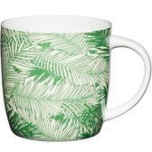 《KitchenCraft》骨瓷馬克杯(棕櫚葉425ml)