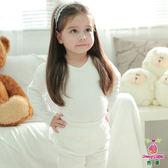 Anny pepe 女童舒暖棉夾棉長袖 白色 (90~150cm)