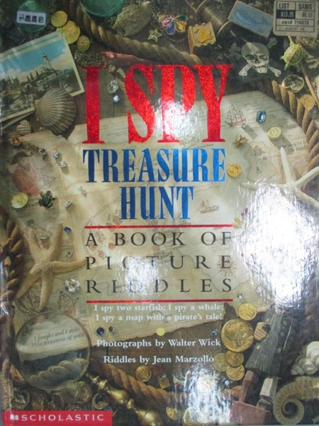 【書寶二手書T1/少年童書_XGD】I Spy Treasure Hunt_Wick