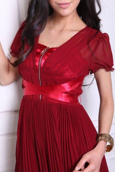 夏裝新款女裝熱賣 時尚修身唯美桑蠶絲連衣裙 有大碼