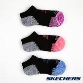 SKECHERS 女款運動短襪 S111718-007 (3雙1包) / 城市綠洲 (美國品牌、透氣、吸濕排汗、運動休閒)