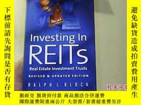 二手書博民逛書店Investing罕見in REITs Real Estate