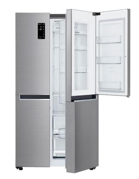 *~新家電錧~*【LG樂金GR-DL88SV 】WiFi門中門對開冰箱 星辰銀 / 821公升