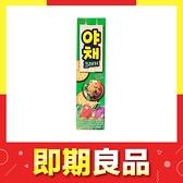 即期 韓國 LOTTE 樂天蔬菜餅乾 83g【庫奇小舖】