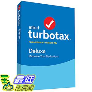 [106美國直購] TurboTax Deluxe Federal and e-File _A1092661