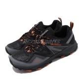 Merrell 戶外鞋 MQM Flex 2 Aerosport 黑 橘 男鞋 登山 越野 運動鞋 【PUMP306】 ML034243