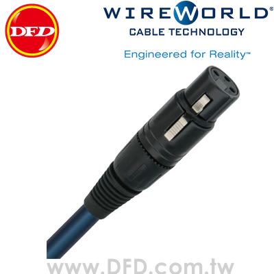 WIREWORLD OASIS 7 綠洲 2.0M Balanced Interconnect 類比平衡線 原廠公司貨