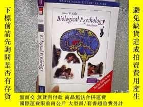 二手書博民逛書店Biological罕見Psychology 生物心理學 帶光盤