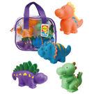 【奇買親子購物網】ALEX 可愛噴水洗澡玩具-恐龍