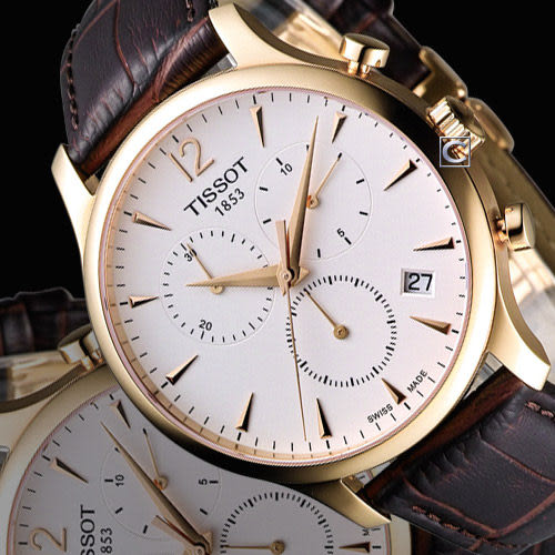 T0636173603700天梭TISSOT T-TRADITION 極簡計時腕錶【寶時鐘錶】