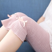 女童夏季薄款外穿寶寶冰絲中褲夏裝莫代爾短褲七分打底褲兒童褲子 幸福第一站