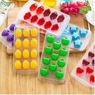 預購-創意多造型加厚冰格模具 塑料底部硅膠可彈式製冰盒