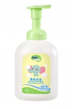【愛吾兒】Nac Nac 清爽泡泡-洗髮沐浴慕斯-500ml
