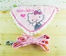 【震撼精品百貨】Hello Kitty 凱蒂貓~狗項圈附三角巾-粉摀嘴