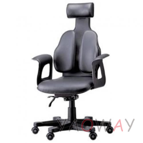 【耀偉】DUOREST-Chairman總裁椅DR-120雙背椅/人體工學椅/辦公椅/主管椅/電腦椅
