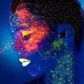 超亮夜光漆水性人體藝術漆夜光顏料熒光漆發光涂料熒光粉自噴
