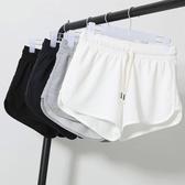 居家女裝休閒短褲闊腿夏季純棉睡褲寬鬆女式運動短褲大碼胖mm跑步