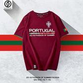 2018俄羅斯世界杯t恤 巴西阿根廷德國家隊主題球星球迷短袖男球衣   LannaS