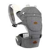 【公司貨,保固一年】i-angel HELLO 哈囉款兩用座椅式背巾 米朗奇淺灰