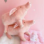 韓國卡通可愛小豬軟萌安撫毛絨玩具公仔男生女生日禮物玩偶擺件女