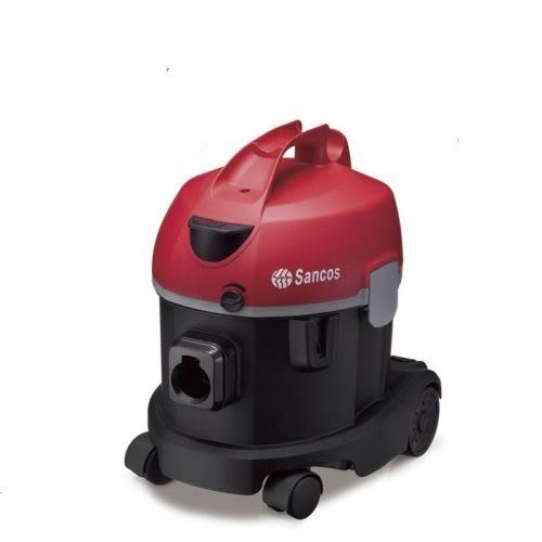 [ 家事達 ] 台灣SANCOS- 超靜音雙層過濾系統乾式吸塵器 特價