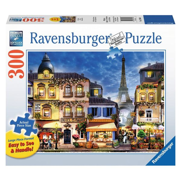 德國Ravensburger維寶拼圖 巴黎夜景(300P)_RV13560