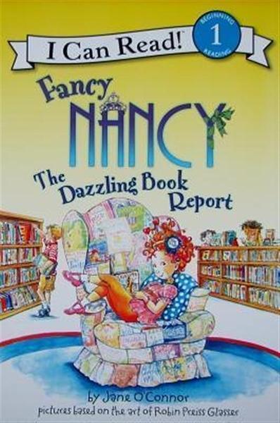 (二手書)An I Can Read Book Level 1: Fancy Nancy the Dazzling Book Report..