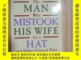 二手書博民逛書店The罕見Man Who Mistook His Wife for a hot(英文原版)Y19246 見圖
