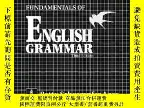 二手書博民逛書店Fundamentals罕見Of English Grammar ChartbookY255562 Azar,