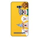 [ZD551KL 硬殼] 華碩 ASUS ZenFone 2 Selfie ZD551KL 手機殼 外殼 狗狗家族