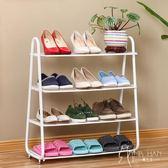 鐵藝防塵宿舍家用多層簡易收納鞋架 韓先生
