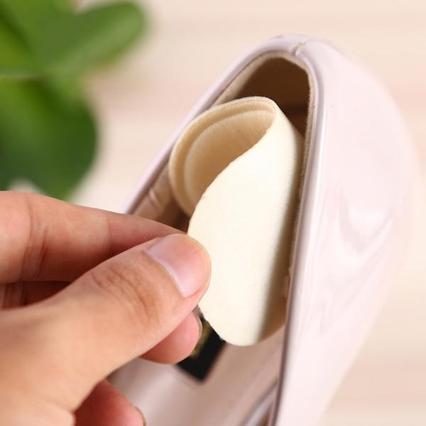 泰博思 4D海綿防磨腳跟貼 防磨貼 後跟貼 防掉鞋跟貼 半碼墊【F0318】