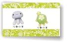 心動小羊^^小章魚、小花龜美麗諾羊毛羊毛氈材料包、可製作成手機吊飾(純羊毛製品)