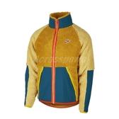 Nike 外套 NSW Fleece Jacket 黃 綠 男款 羔羊外套 絨毛 立領 【PUMP306】 BV3722-727
