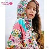 女童防曬衣2021新款春秋兒童童裝上衣大童外套風衣洋氣春款空調衫 創意家居生活館