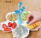 分格果盤創意 現代歐式客廳茶幾家用塑料果盆零食盤 新年水果拼盤【櫻花本鋪】