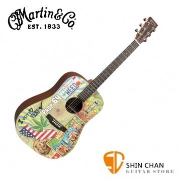 Martin DX420 41吋 可插電 限量彩繪民謠吉他 桶身: D桶【DX-420 / 電木吉他 / 台灣總代理/公司貨】
