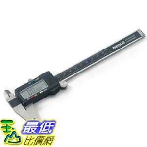 [美國直購] Neiko 01407A Stainless Steel 6-Inch Digital Caliper LCD Screen SAE-Metric Conversion 數字卡尺