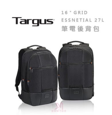 光華商場。包你個頭【Targus】泰格斯 GRID 黑盾 (27L) 電腦後背包 防震 耐衝擊 tsb 848
