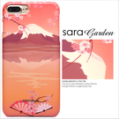 客製化 手機殼 iPhone 7 Plus 保護殼 富士山櫻花