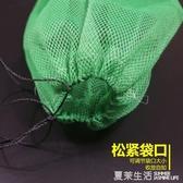 魚網袋魚袋子裝魚加厚加密折疊魚護網尼龍漁網兜編織漁袋子魚網兜『快速出貨YTL』