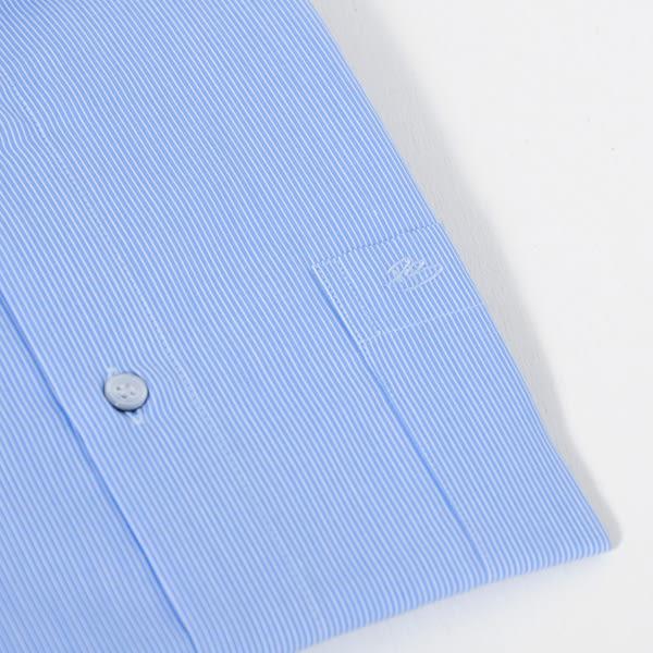 PIERRE BALMAIN 長袖襯衫F1-藍