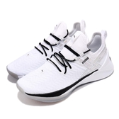 Puma 慢跑鞋 Jaab XT Iridescent TZ Wns 白 黑 襪套式 運動鞋 舒適緩震大底 女鞋【PUMP306】 19224002