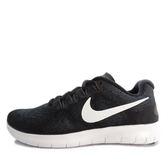 Nike W Free RN 2017 [880840-001] 女鞋 慢跑 運動 休閒 舒適 透氣 黑 白