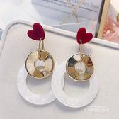 《Caroline》簡單時尚風格流行時尚耳環72070