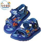 《布布童鞋》GP無尾熊天堂磁扣式寶藍色橡膠兒童運動涼鞋(16~20公分) [ G1J1BBB ]