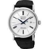 SEIKO 精工錶 Premier 薄型設計 藍寶石水晶鏡面 機械腕錶 SRPA17J2 熱賣中!