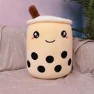 珍珠奶茶杯抱枕女生床上睡覺大娃娃靠墊玩偶公仔毛絨玩具【輕派工作室】