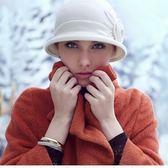 羊毛帽-韓版流行甜美花形女針織帽73id26[時尚巴黎]